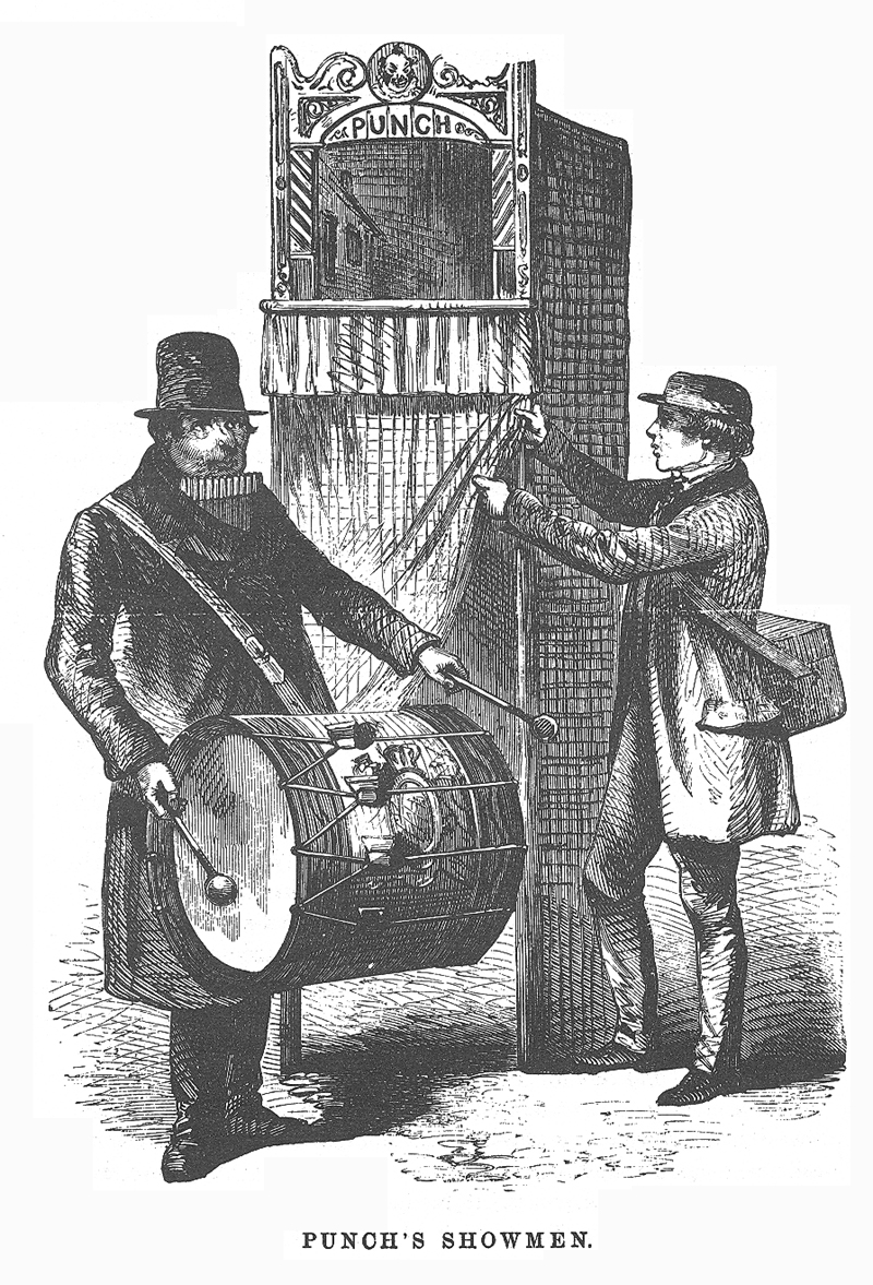 ... 19th Century London (What Charles Dickens Saw): Punch's Showmen